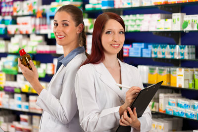 women pharmacist